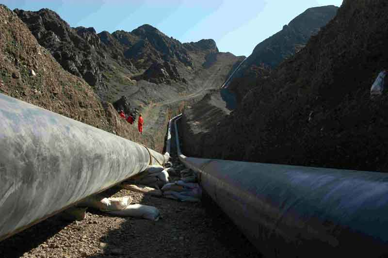 pipeline construction process