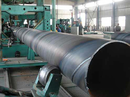 Technological process for OCTG line pipes