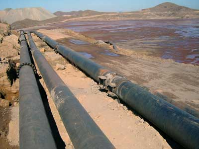 the pipeline construction process