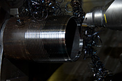 tubing and casing coupling thread